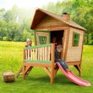 Kids Wooden Fairy Tale Crooked Playhouse